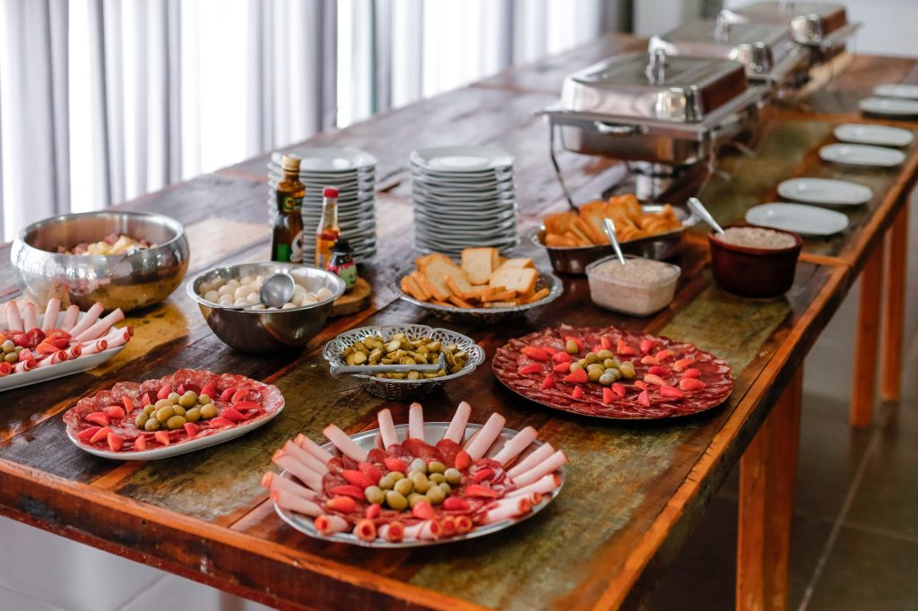 These catering ideas for office meals can help you create a wonderful  spread for the next office event.