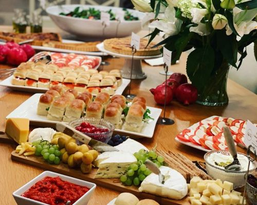 appetizer office snacks hors doeuvres caterer palo alto