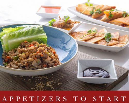 appetizers starter food