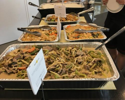 asian thai corporate catering team lunch order new york