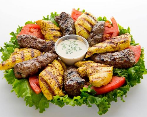 bbq party catering food