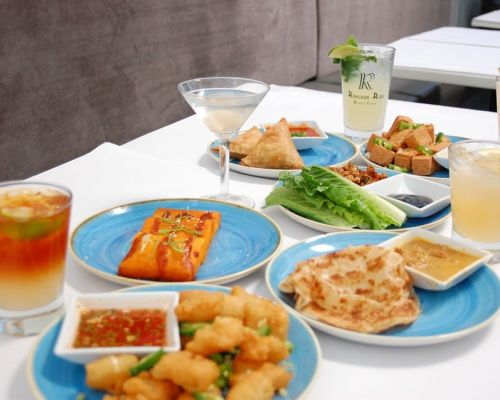 best asian catering food