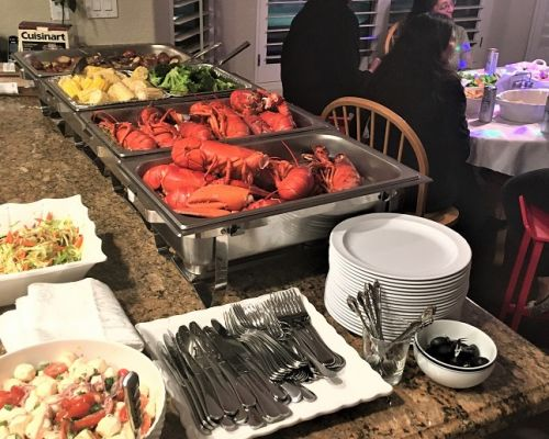 best birthday caterer order catering online los angeles buffet style meal