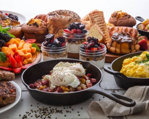 best breakfast catering with all ingredients