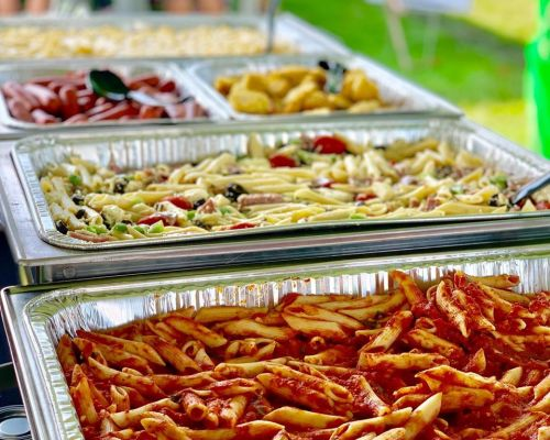 best buffet style italian caterer business catering lombard