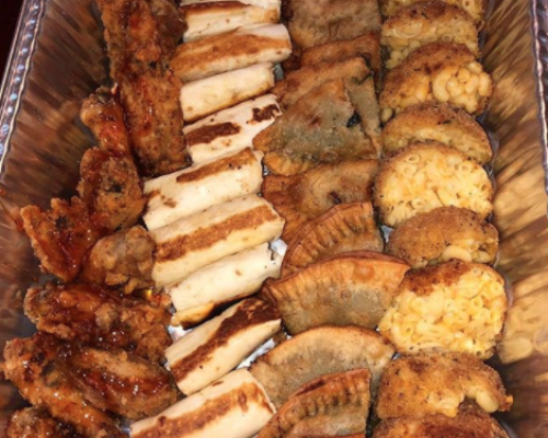 best business caterer corporate catering appetizer flushing office snack order