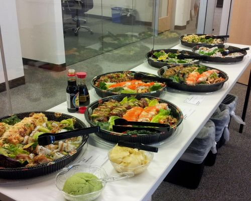 best caterers near me hayward japanese catering