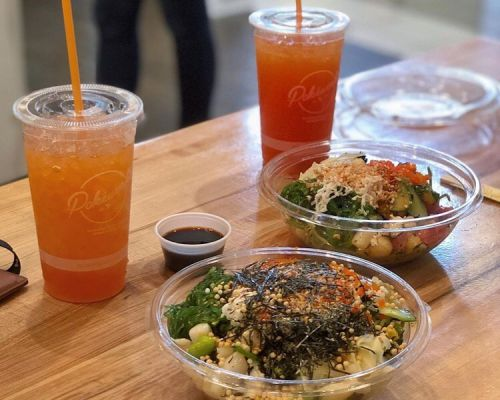 best caterers near me new work poke bowls