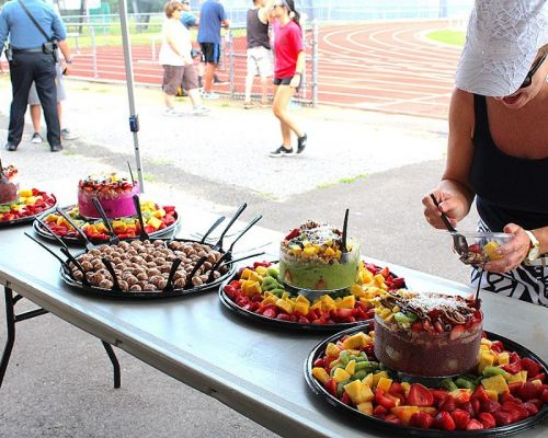 best fitness healthy event catering organic fresh fruits platter