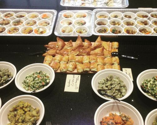 best healthy corporate catering los angeles team lunch order