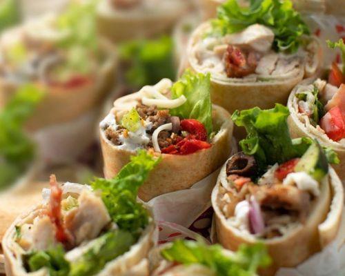 best healthy office lunch order vegan veg catering
