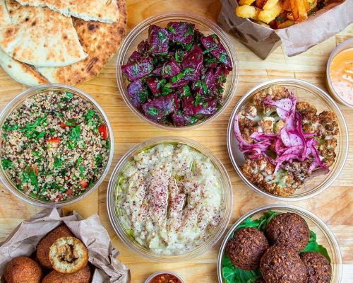 best mediterranean food catering