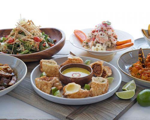assorted aji food catering