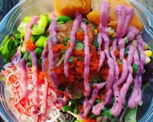 poke bowls hawaiian cuisine food