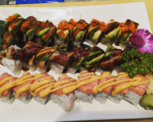 best sushi event catering Mineola family meal package