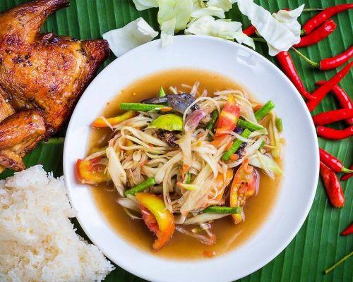 thai cuisine food