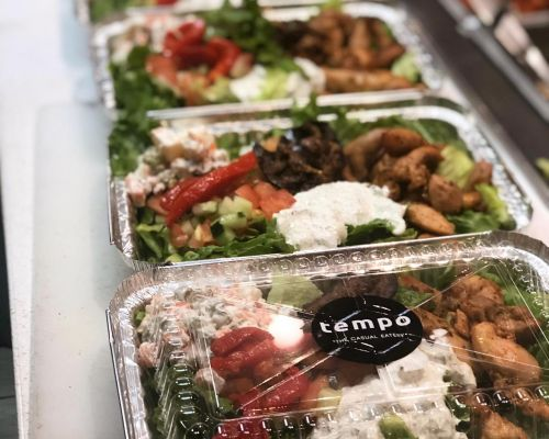 boxed lunch individually packed healthy catering