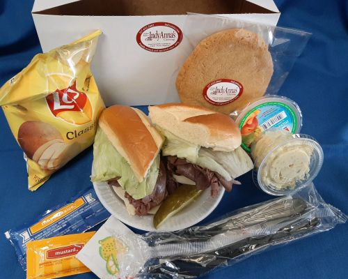 boxed lunch office meal business catering indianapolis