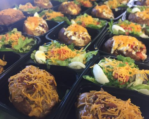 boxed lunches food catering