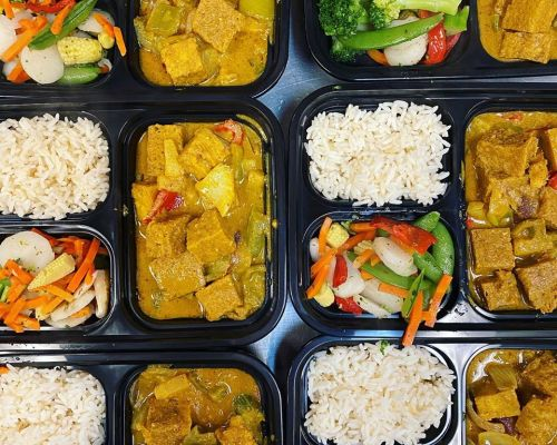 boxed lunches office meals