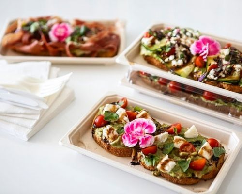 boxed meal individually packaged healthy american catering san francisco