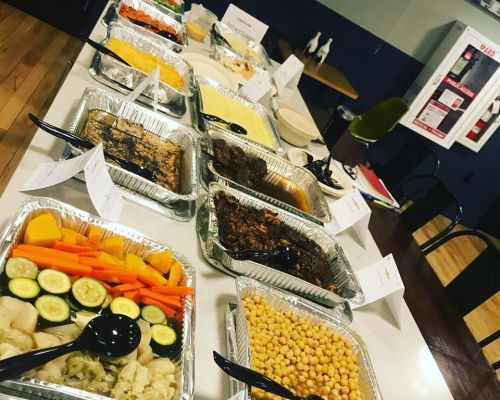 boxed meal office party food delivery los angeles