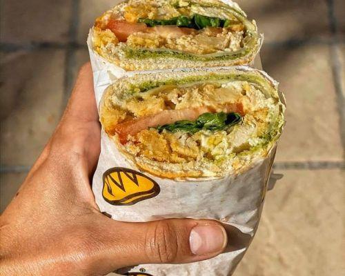 boxed meal Vegan Vegetarian sandwich