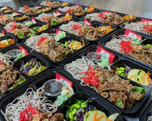 boxed meals corporate catering