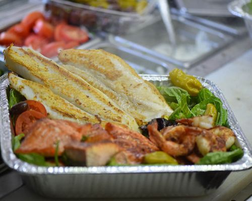 boxed meals greek corporate caterer