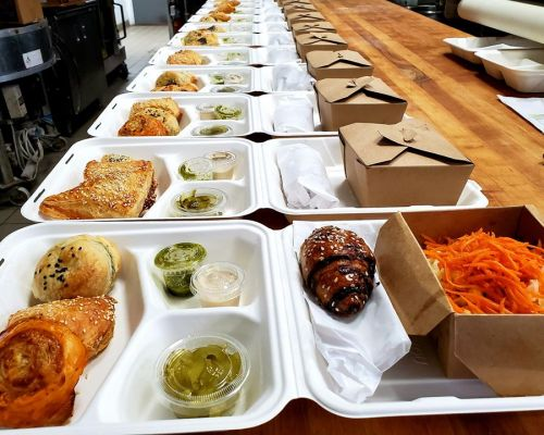 boxed meals individually packed office food team lunch order san francisco