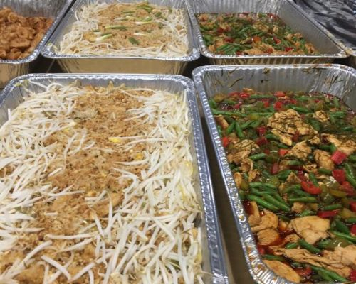 boxed meal catering