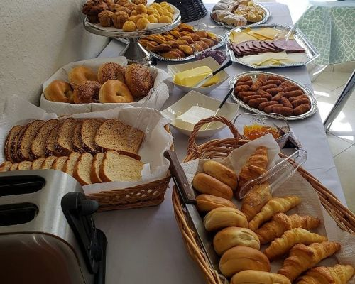 breakfast catering business corporate private homestead