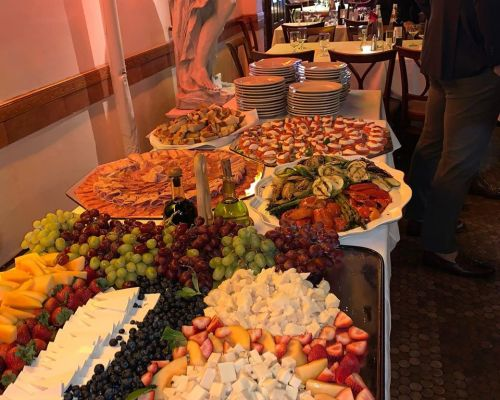 buffet catering corporate caterer new york office meal order