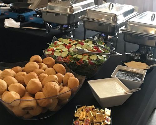 buffet catering corporate event social lunch orlando caterer