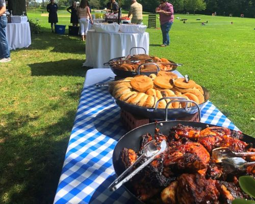 buffet catering corporate outing picnic boston