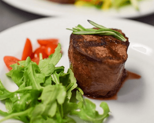 buffet catering group order food american steak caterer