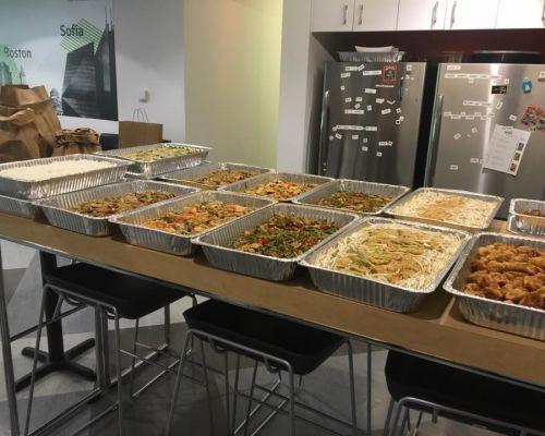 buffet thai cuisine boxed meals