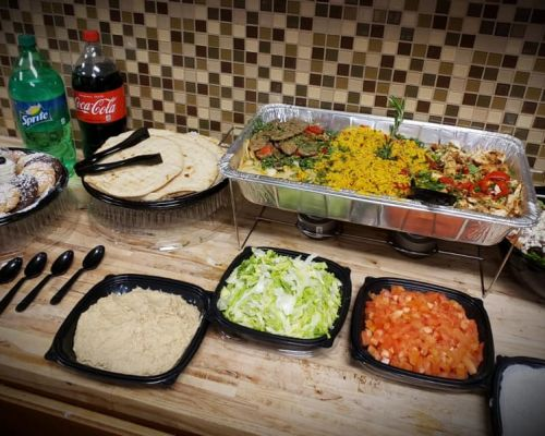 buffet catering office lunch south latin american