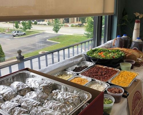 buffet catering packages