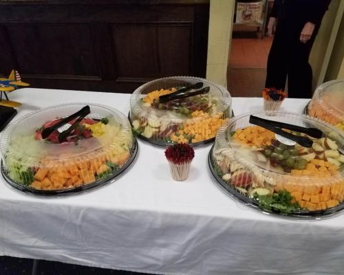 buffet catering social event jacksonville caterer southern american