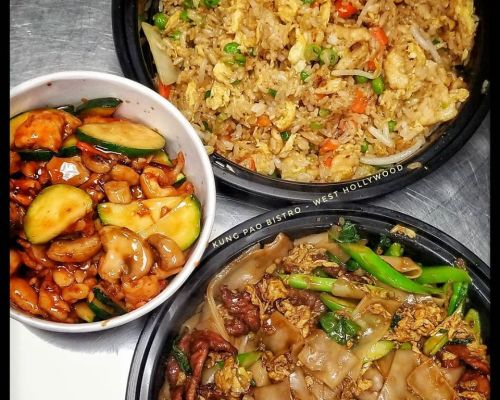 buffet style asian catering hollywood group food order