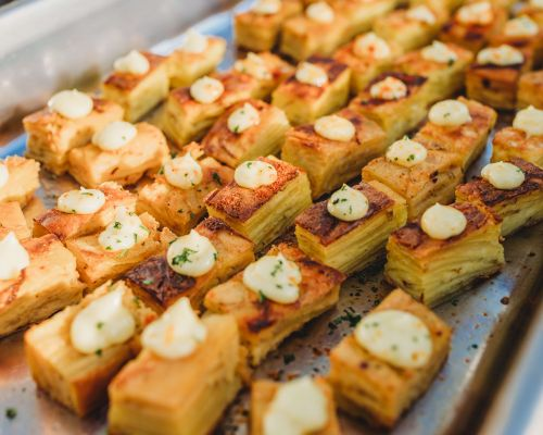 buffet style business catering
