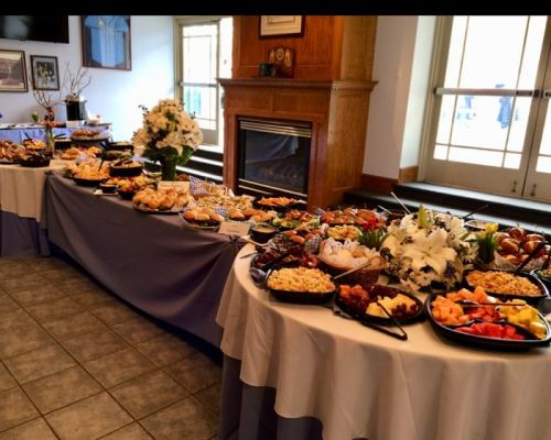 buffet style catering event caterers chicago