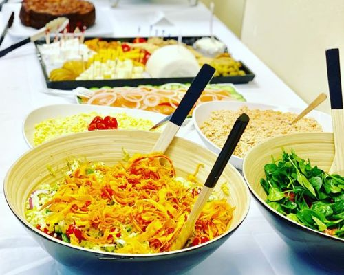 buffet style hors doeuvres catering corporate business