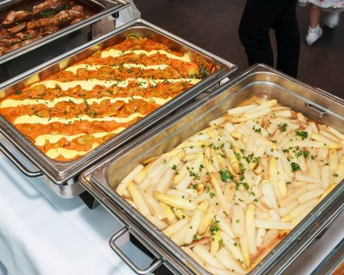 buffet style social event catering