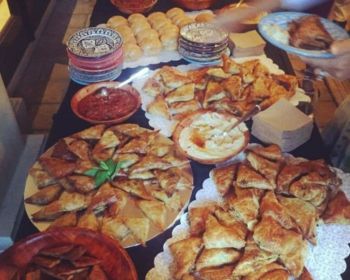 buffet style social event catering los angeles