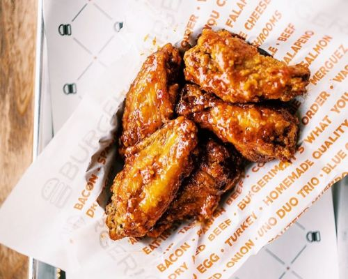 business catering appetizer chicken wings american food
