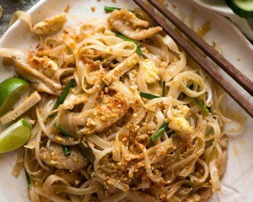 thai food with healthy ingredients