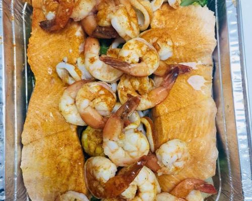 business catering individually packed boxed meals healthy seafood order
