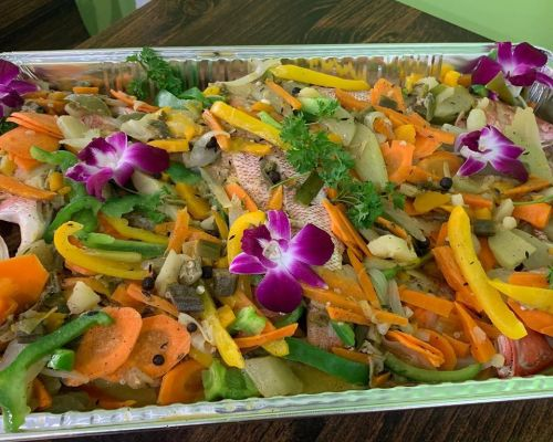 healthy ingredients catering food